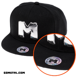 """M"" POWERLIFTING SNAP CAP (14005)"