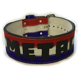 3 Color Powerlifting Belt (16016)