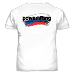 RUSSIA POWERLIFTING T-SHIRT (19025)