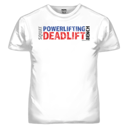 POWERLIFTING T-SHIRT (19048)