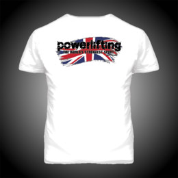 UK POWERLIFTING T-SHIRT (19036)