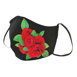 ROSES | Fabric facial mask (shaped)