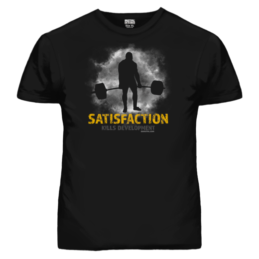 SATISFACTION KILLS DEVELOPMENT T-SHIRT (19056)