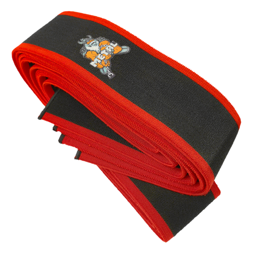 Black'n Red Knee Wraps (16020)