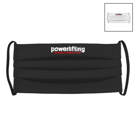 POWERLIFTING | Fabric facial mask (pleated)