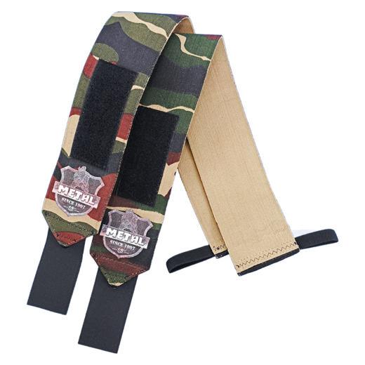 Mystical Hard Camo Wrist Wraps (IPF approved) (18009)