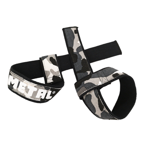 Black'n Grey Camo Lifting Straps (17018)